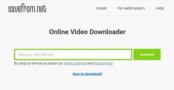 Savefrom.net - Hotstar Video Downloader